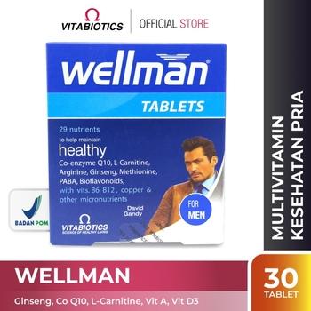 Vitabiotics Wellman Tablet  harga terbaik 246700