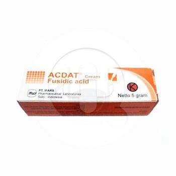 Acdat krim adalah obat untuk mengatasi berbagai infeksi pada kulit.