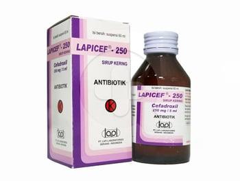 Lapicef Sirup 250 mg/5 mL - 60 mL harga terbaik 93041