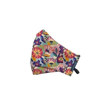 Maskit Masker Limited Edition - Dewasa Standar - Rainbow Floral  harga terbaik