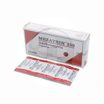 Mezatrin kapsul adalah obat untuk membantu mengatasi infeksi bakteri