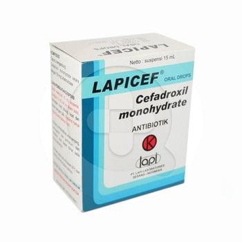 Lapicef Drop 150 mg/mL - 15 mL harga terbaik