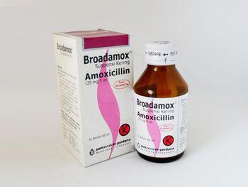 Broadamox Suspensi Kering 125 mg/5 mL  harga terbaik
