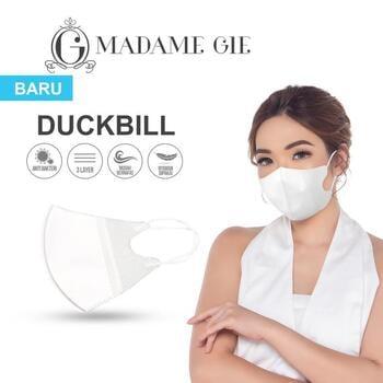 masker kesehatan Madame Gie Protect You Duckbill Face Mask Isi 10 Pcs – Putih