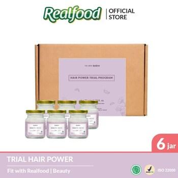 Realfood Hair Power Trial Program harga terbaik 375000