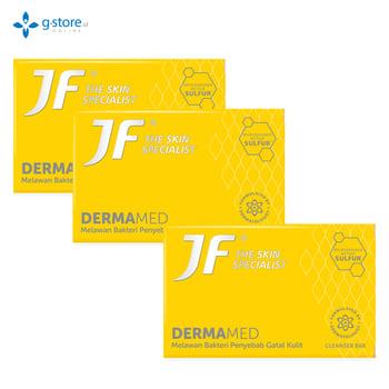 Beli 2 Gratis 1 JF Dermamed Cleanser Bar 90 g harga terbaik 34800