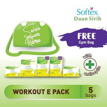 Softex Daun Sirih Pantyliner Workout Package harga terbaik 75000