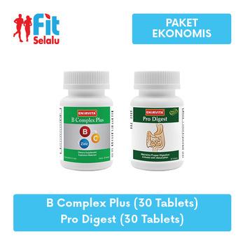 Enervita B Complex Plus 30 Tablet  + Enervita Pro Digest 30 Tablet  harga terbaik 281000