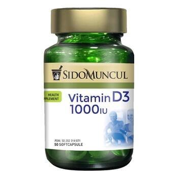Sido Muncul Vitamin D3 1000 IU Soft Capsule  harga terbaik 144000
