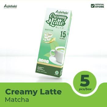 Ashitaki Creamy Latte Matcha 24 g  harga terbaik 20000