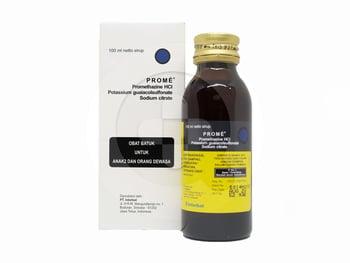 Prome Ekspektoran sirup adalah obat untuk membantu meringankan batuk