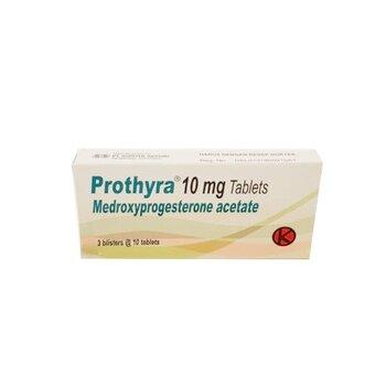 Prothyra Tablet adalah obat yang mengandung medroxyprogesterone acetate 10 mg