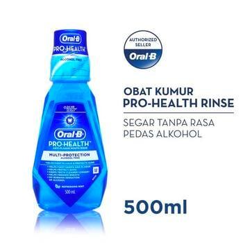Oral-B Rinse Pro Health 500 ml harga terbaik 42000