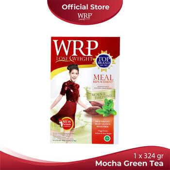 WRP Meal Replacement Mocha Green Tea 324 g harga terbaik 109500