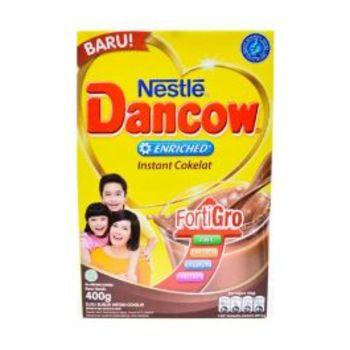 Dancow Enriched Instant Rasa Coklat 400 g harga terbaik