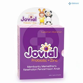 Jovial Probiotic + Zinc Sachet  harga terbaik 118800