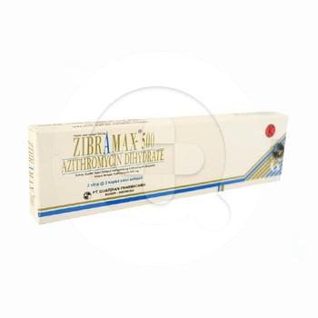 Zibramax 500 Kaplet 500 mg  harga terbaik