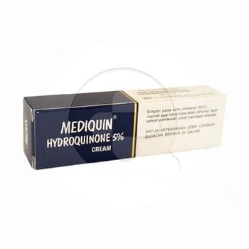 Mediquin krim adalah obat yang digunakan untuk mengatasi hiperpigmentasi pada kulit
