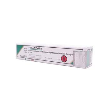 Visancort krim 10 g adalah obat yang digunakan untuk mengobati peradangan pada kulit dan masalah kulit.