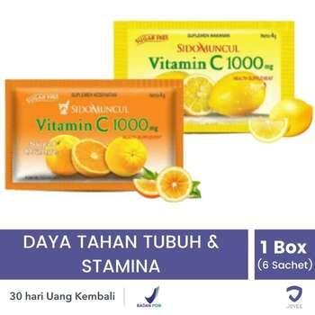 Sido Muncul Vitamin C 1000 Sachet  harga terbaik 15158