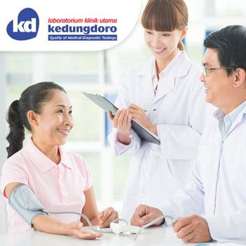 Paket Pasca Vaksin (Antibodi Kuantitatif S-RBD Test) di Laboratorium Klinik Utama Kedungdoro, Dharmahusada,  Kedungsari