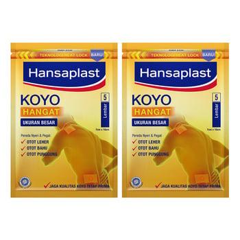 BUY 1 GET 1 Hansaplast Koyo Big Patch Hangat 5's harga terbaik 15000