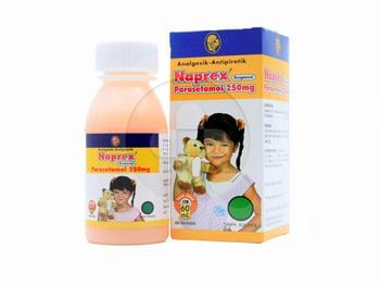 Naprex suspensi adalah obat untuk menurunkan demam dan meredakan nyeri atau sakit kepala pada anak
