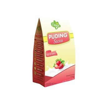 Nayz Puding Susu Rasa Stroberi/Strawberry 200 g