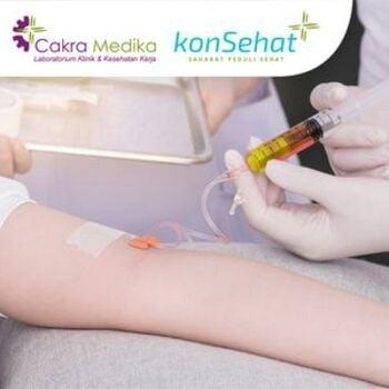 Promo Vitamin C Injection di Lab Klinik dan Kesehatan Cakra Medika, Bekasi seharga Rp 120.000