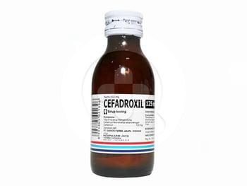 Cefadroxil Bernofarm Sirup Kering 125 mg/5 ml - 60 ml harga terbaik