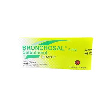 Bronchosal Kaplet 4 mg (1 Strip @ 10 Kaplet)
