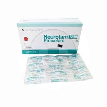 Neurotam kaplet adalah obat untuk mengatasi gejala proses penuaan berupa kemunduran daya ingat