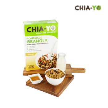 Chia-Yo Homemade Granola Original 1 kg harga terbaik 170000