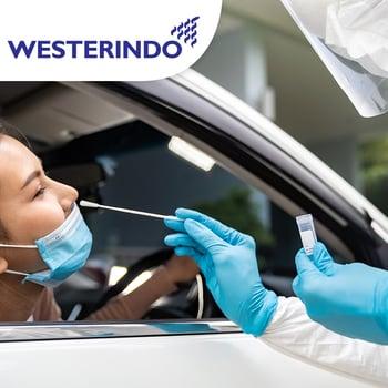 Drive Thru Rapid Antibody Kuantitatif Test COVID-19 di Laboratorium Klinik Westerindo