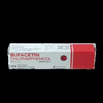 Bufacetin krim adalah obat untuk mengatasi infeksi kulit karena bakteri