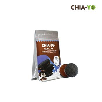Chia-Yo Sandwich Cookies Coffee 80 g harga terbaik 25000