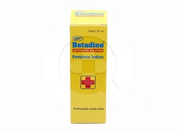 Betadine Larutan Antiseptik 30 mL harga terbaik 22018