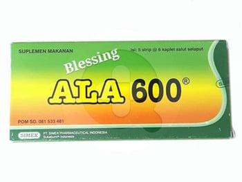 Ala Kaplet 600 mg  harga terbaik