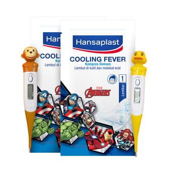 Hansaplast Cooling Fever Avengers GET Digital Thermometer harga terbaik