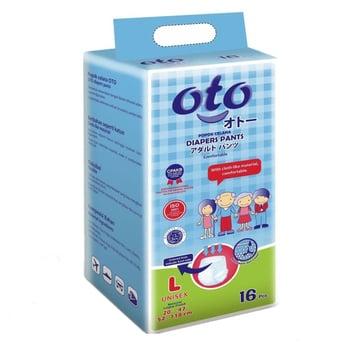 OTO Adult Diapers Pants / Popok Dewasa Model Celana - L  harga terbaik 125000