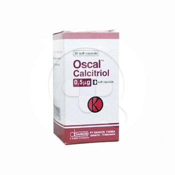 Oscal Kapsul 0,5 mcg (1 Botol @ 30 Kapsul Lunak)