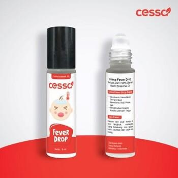 Cessa Fever Drop Essential Oil Roll On 10 ml harga terbaik 40000