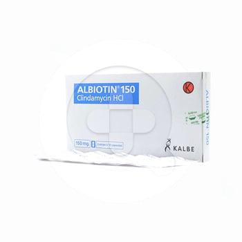 Albiotin Kapsul 150 mg  harga terbaik