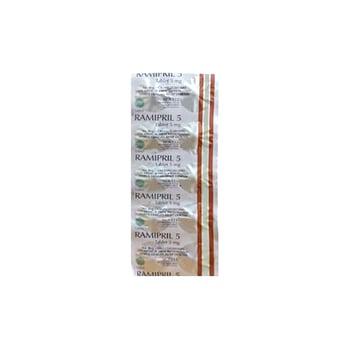 Ramipril Kaplet adalah obat untuk mencegah serangan jantung, stroke, dan gangguan pada ginjal