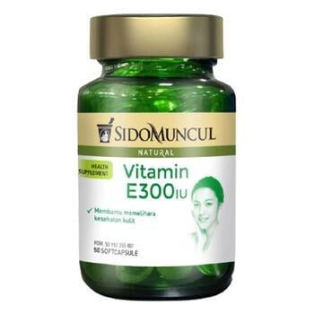 Sido Muncul Natural Vitamin E 300 IU Soft Capsule  harga terbaik 119000