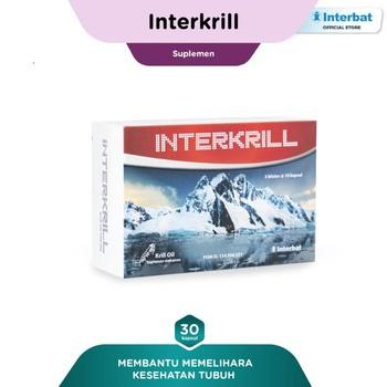 Interkrill Kapsul (1 Strip @ 10 Kapsul)