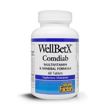 Natural Factors - WellbetX Complete Diabetic  harga terbaik