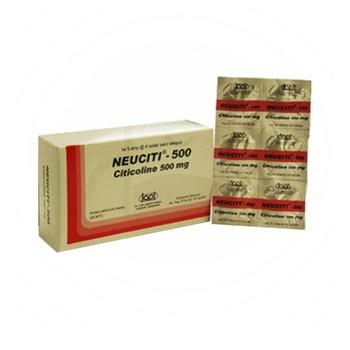 Neuciti Tablet adalah obat yang mengandung citicoline 500 mg