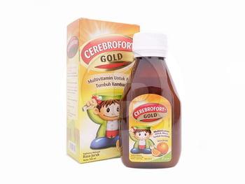 Cerebrofort Gold Rasa Jeruk Sirup 60 mL harga terbaik 19816