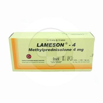 Lameson tablet adalah obat untuk membantu mengatasi kondisi alergi dan inflamasi atau peradangan